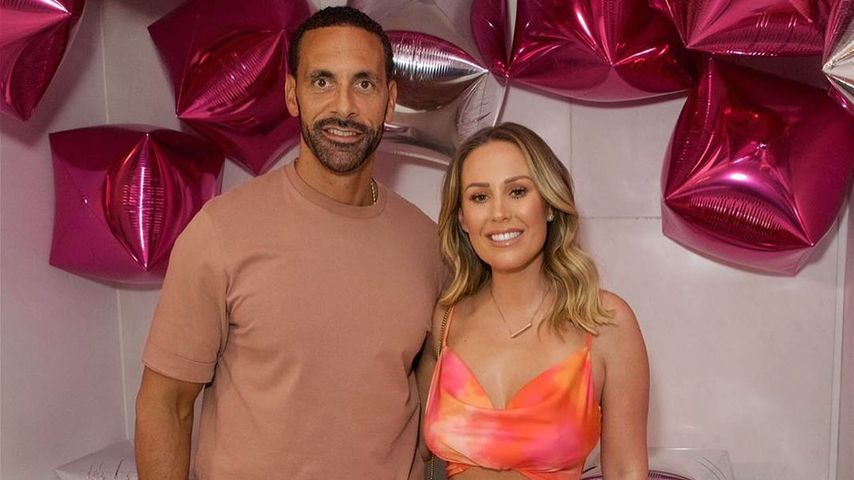 Rio Ferdinand und Kate Wright im Juni 2019