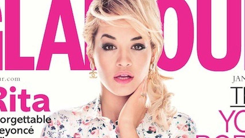 Rita Ora: Mädchenhaft auf der britischen Glamour