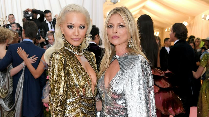 Rita Ora und Kate Moss im Mai 2019 auf der Met Gala