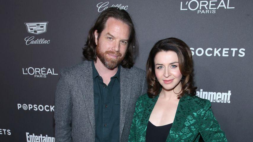 Rob Giles und Caterina Scorsone, Los Angeles am 26. Januar 2019