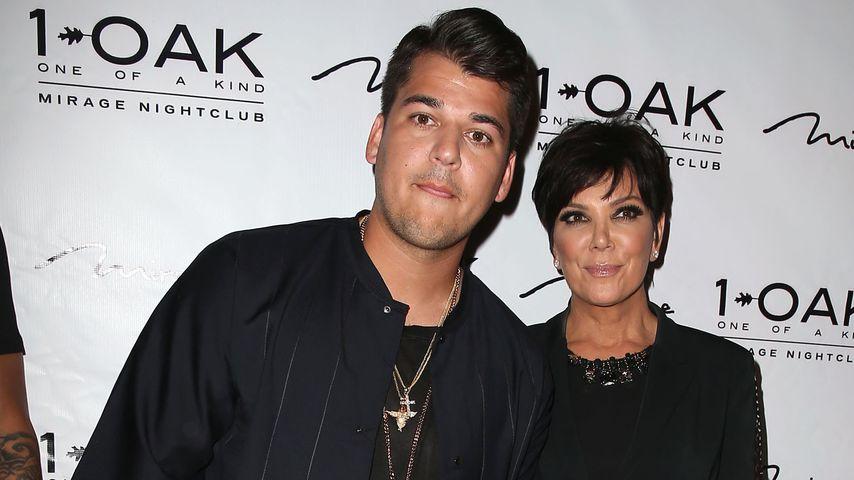 Hoffnung aufgegeben: Rob Kardashian von Mama Kris verraten?