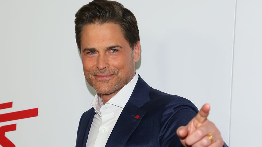 "Rob Lowe bei der Premiere von ""Super Troopers 2"" in Los Angeles, April 2018"