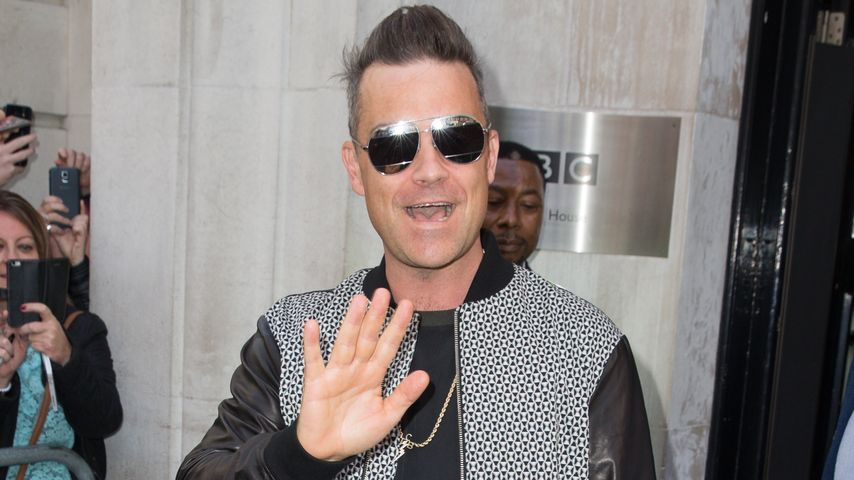 """Robbie Williams: """"Motherfucker"""" schrieb er für Sohn Charlie!"""