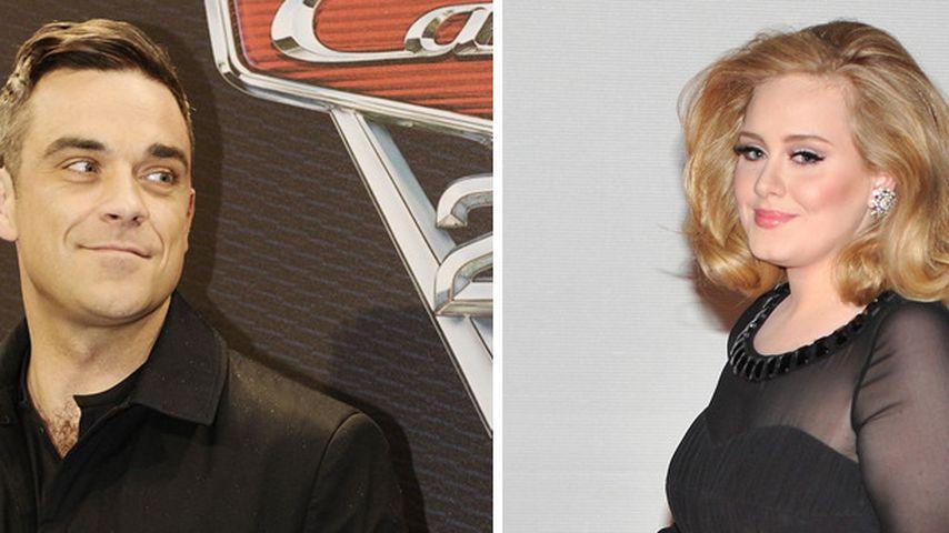 Robbie Williams will Adele Erziehungstipps geben