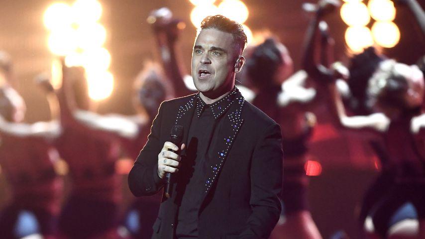 Robbie Williams bei den Brit Awards 2017