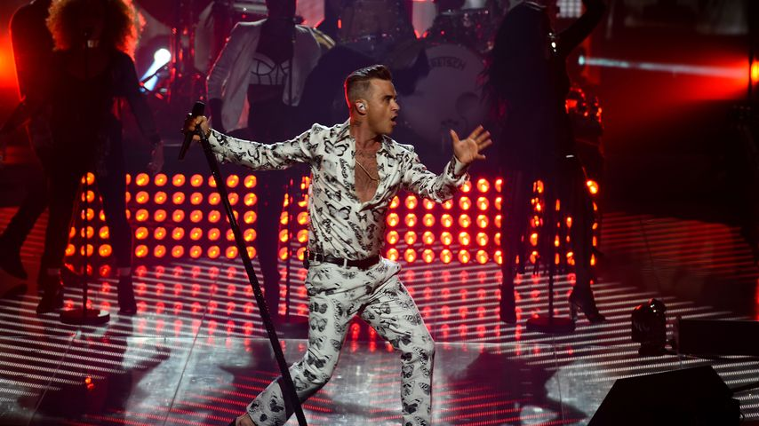 Robbie Williams performt beim ITunes Festival