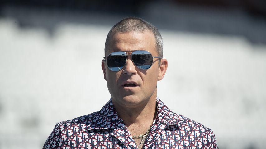 In der Karibik: Robbie Williams mit Familie in Quarantäne