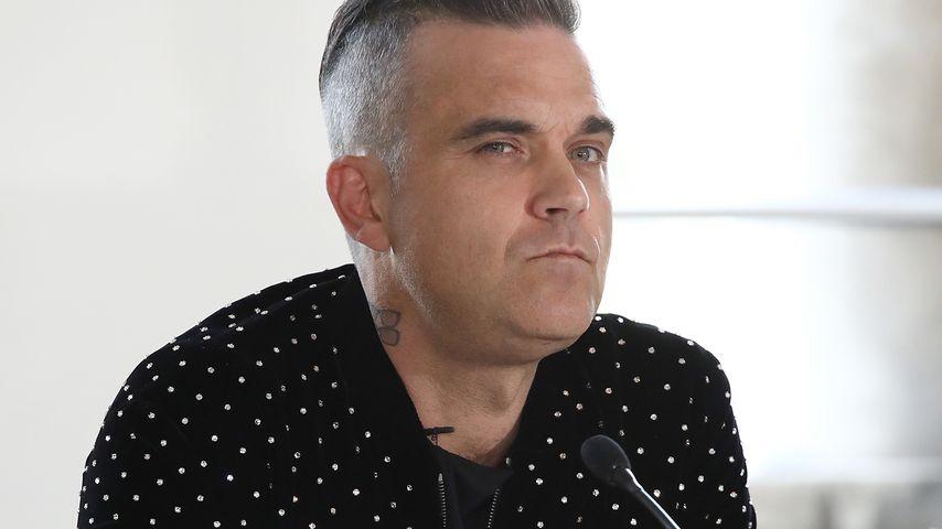 Fragwürdig! Robbie Williams scherzt über Drogen-Konsum