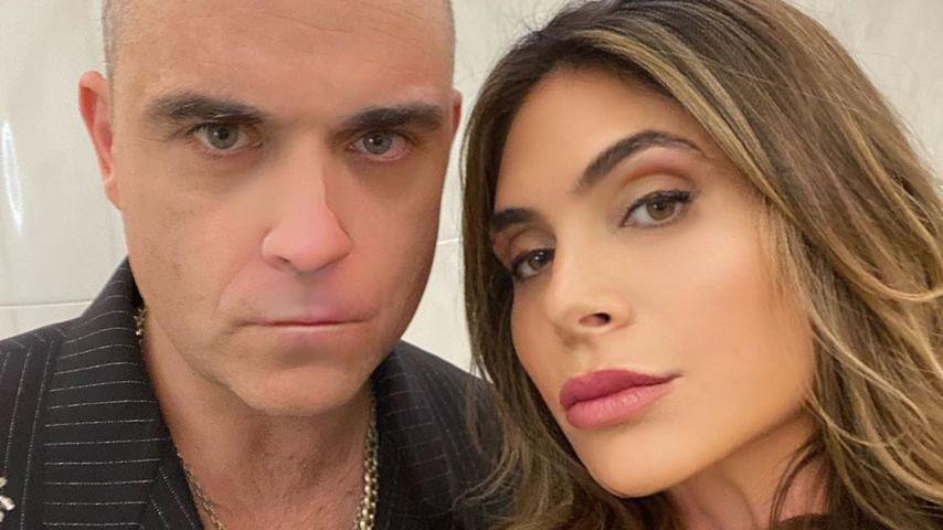 Vor erstem Date: Robbie Williams hat Ayda Field geghostet!