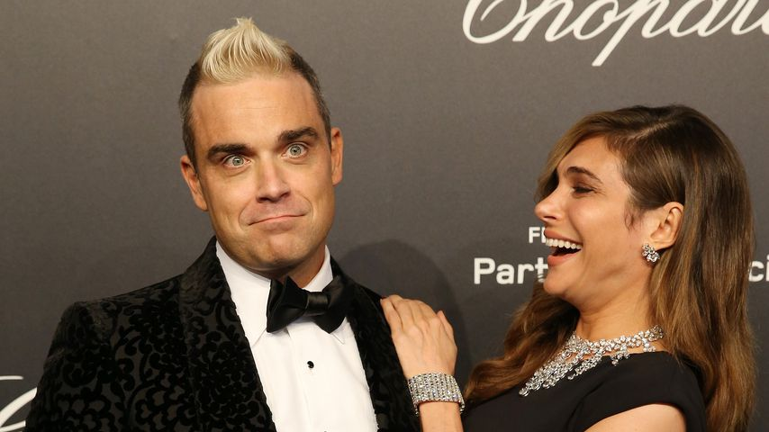 Robbie Williams und Ayda Field bei der Chopard Gold Party 2015 in Cannes
