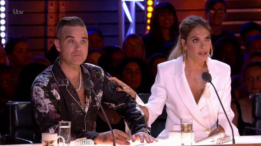 "Robbie Williams & Ayda gestehen: Sex in ""X Factor""-Pause"