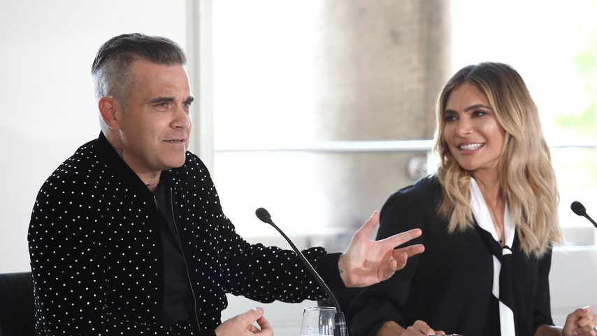 Robbie Williams und Ayda Field im Juli 2018