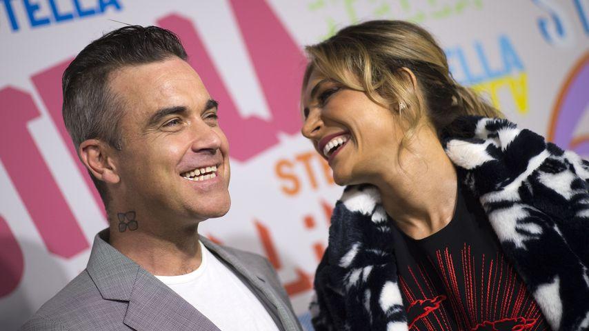 Robbie Williams und seine Frau Ayda Field