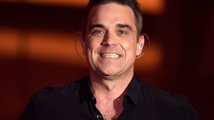 """Robbie William bei """"Menschen, Bilder, Emotionen"""" in Köln im Dezember 2016"""