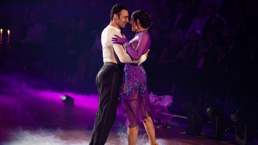 """Robert Beitsch und Ulrike Frank im März 2019 bei """"Let's Dance"""""""