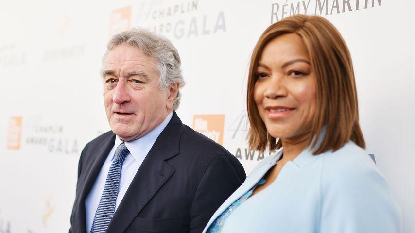 Robert De Niro und Grace Hightower bei der Chaplin Award Gala 2017
