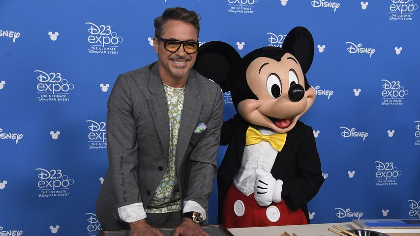Robert Downey Junior beim Disney-Legends-Event