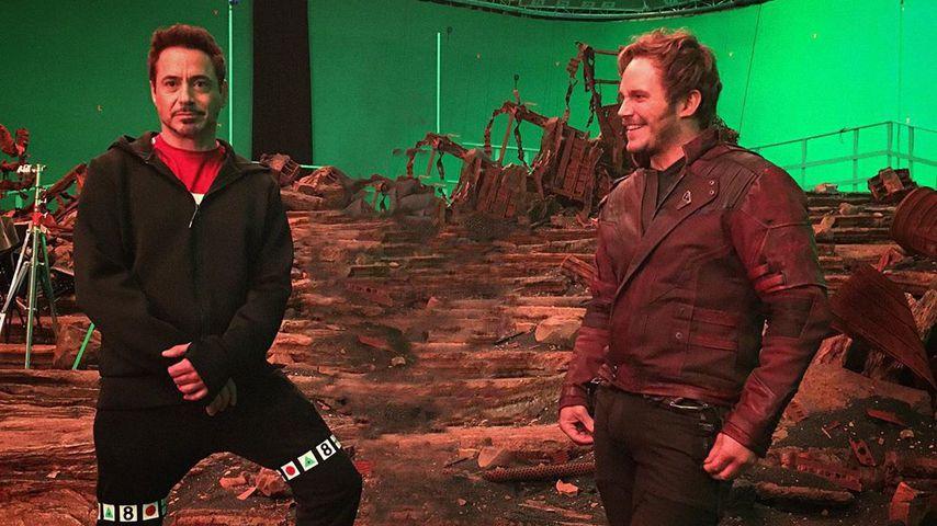 Robert Downey Junior und Chris Pratt