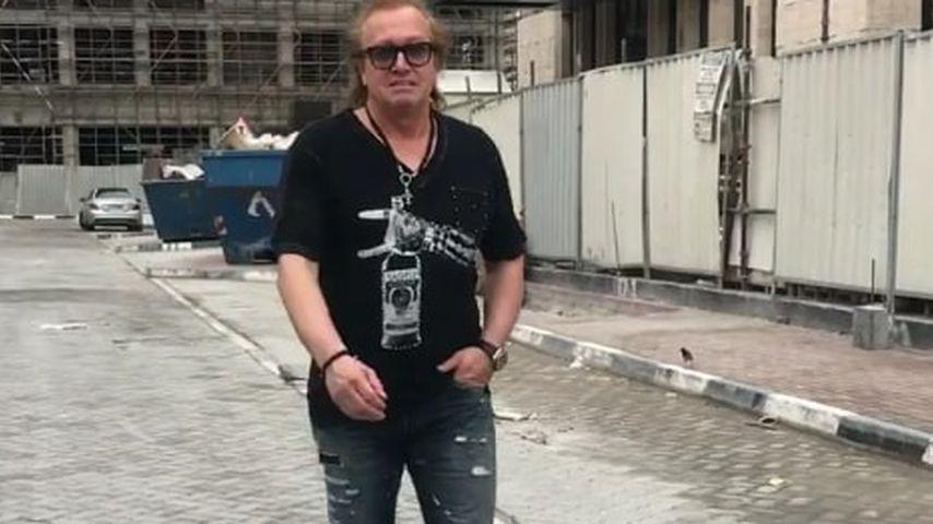 Robert Geiss auf einer Baustelle in Dubai
