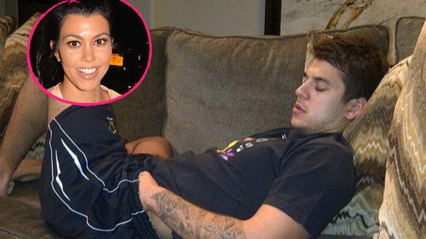 Rob Kardashians Hand in der Hose: Fieser Post von Kourtney!