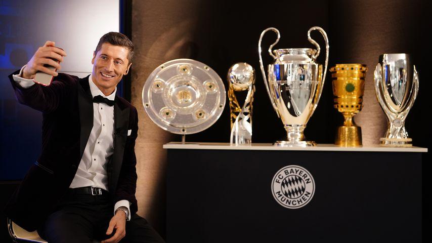 Robert Lewandowski bei den The Best FIFA Football Awards in München im Dezember 2020