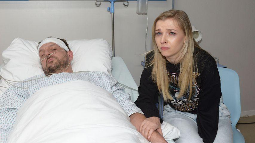 """Robert (Nils Schulz) und Brenda (Annabella Zetsch) bei """"Gute Zeiten, schlechte Zeiten"""""""