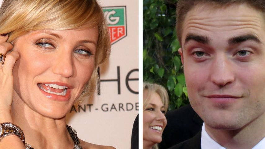 Cameron Diaz will Robert Pattinson abschleppen!