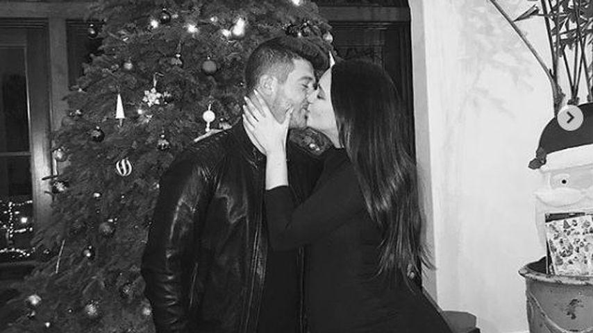 Robin Thicke und April Love Geary nach ihrer Verlobung an Weihnachten 2018