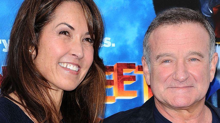 Robin Williams und Susan Schneider