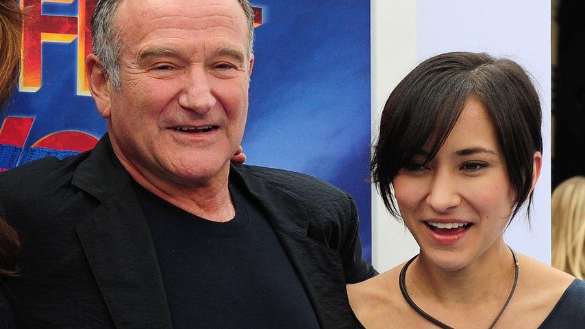 Für toten Dad: Robin Williams' Tochter rührt mit Nachruf!