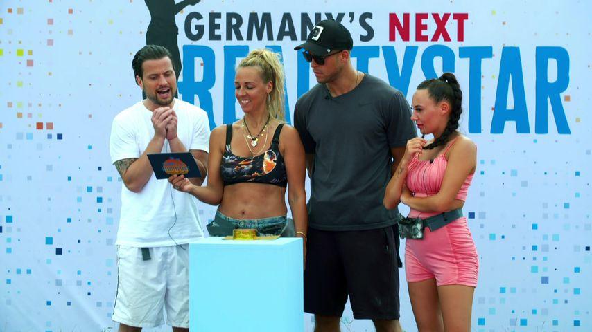 "Rocco Stark, Loona, Andrej Mangold und Alessia Herren bei ""Kampf der Realitystars"""