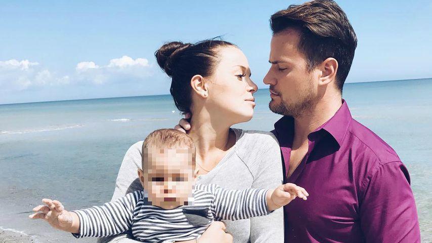 Schon eine kleine Familie? Rocco Stark mit Freundin & Baby!