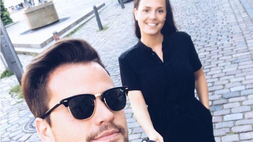 Von wegen schwanger: Rocco Starks Liebste dünn wie eh und je