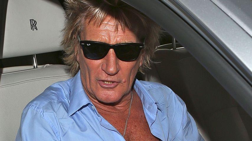 Angezeigt! Rod Stewart bricht Konzertbesucher Nase