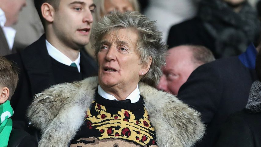 Sir Rod Stewart in Glasgow