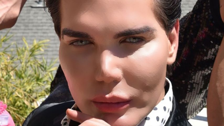 Rodrigo Alves am Set einer Reality-TV-Show in Los Angeles