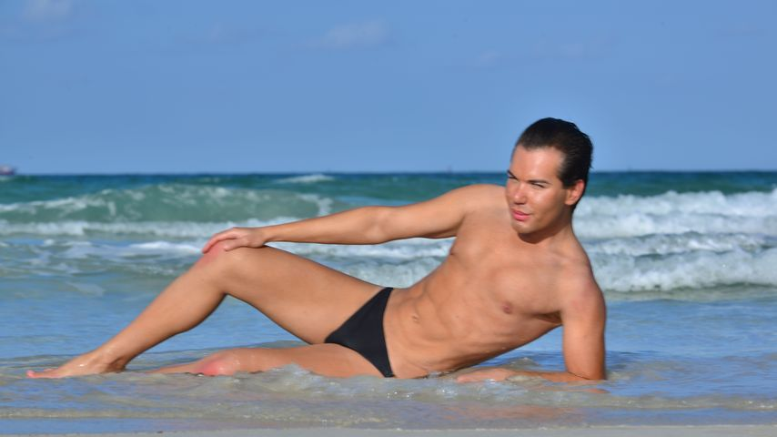 Rodrigo Alves am Strand