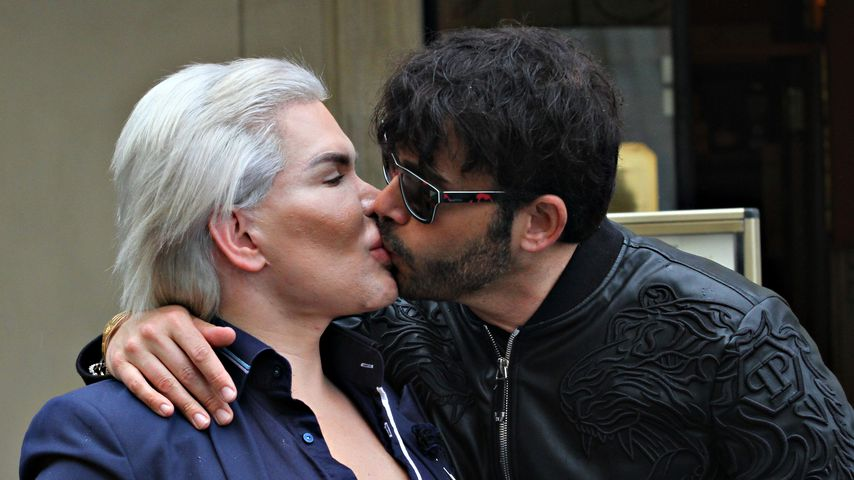 Rodrigo Alves und Giacomo Urtis in Rom