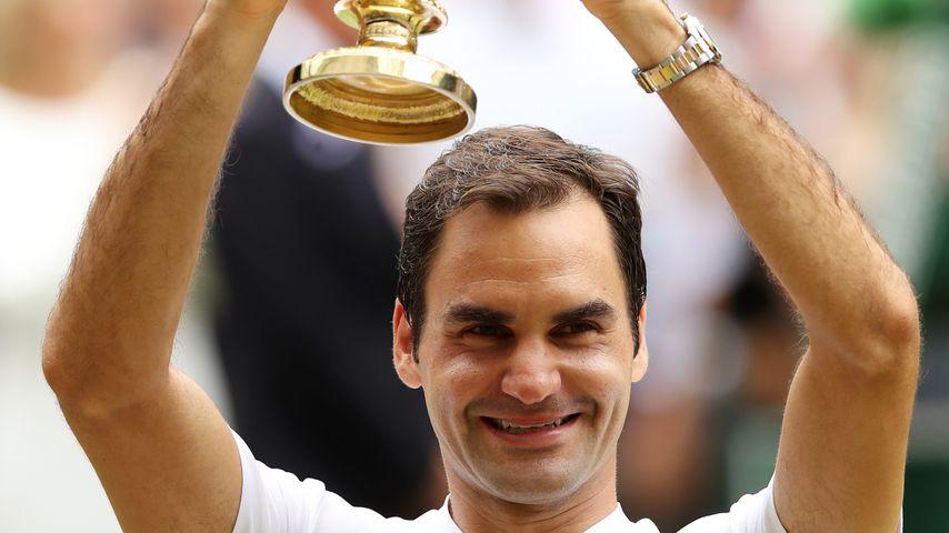 Roger Federer, Sieger der 131. Wimbledon Championships in London