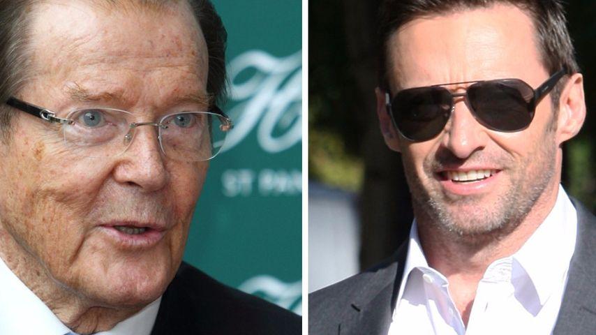 Roger Moore: Hugh Jackman soll nächster Bond werden