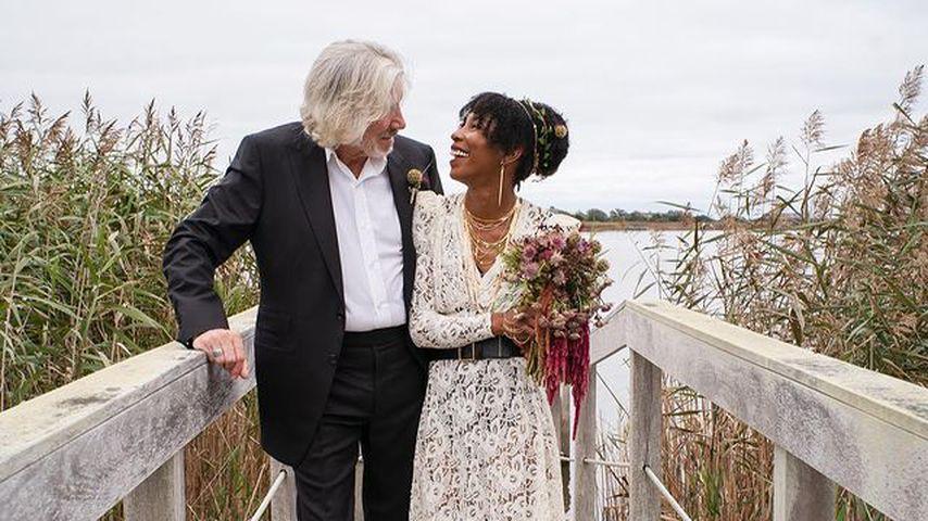 Pink-Floyd-Gründer Roger Waters zum fünften Mal verheiratet!