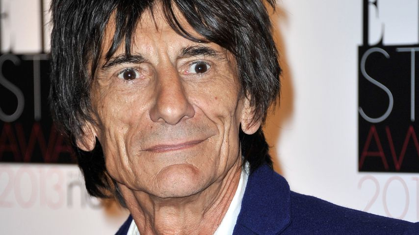 """Rolling Stones""-Gitarrist Ronnie Wood"