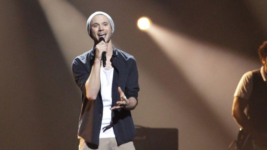 Roman Lob auf der Bühne beim ESC 2012