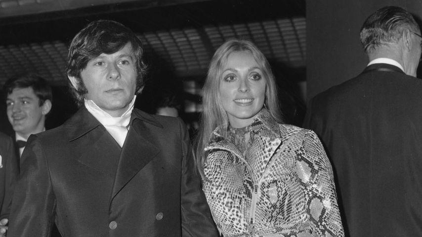 Roman Polanski und seine Frau Sharon Tate im Januar 1969