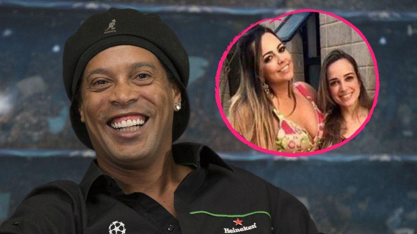 Privates Triple: Heiratet Ronaldinho gleich zwei Frauen?