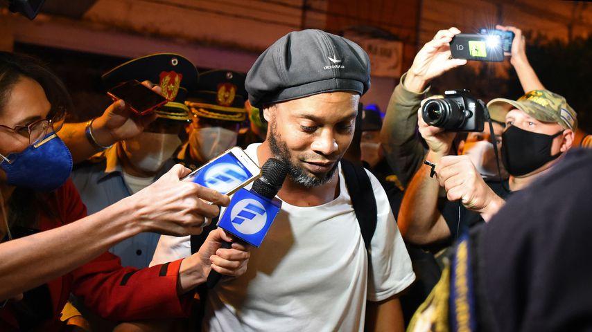 Ronaldinho nach seiner Gefängnisentlassung