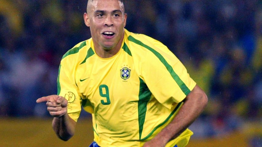 Ronaldo bei der Fußball-WM 2002