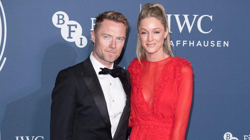 Ronan Keating mit Ehefrau Storm