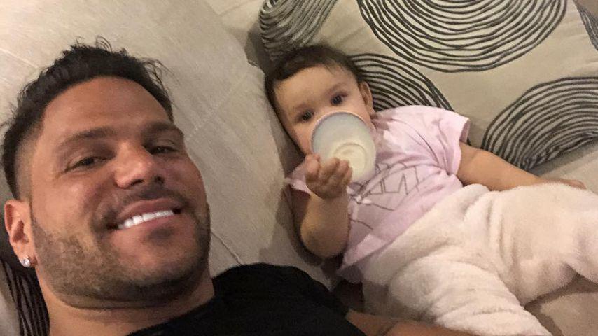 Ronnie Ortiz-Magro und seine Tochter Ariana Sky