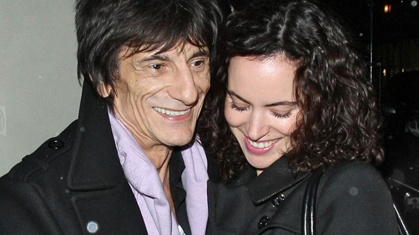 Rolling Stones-Ronnie Wood (65) will noch ein Kind